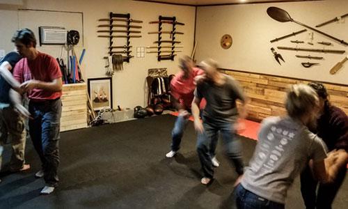 self defense drills